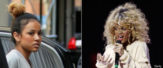 Karrueche Tran And Rihanna Physical Fight Rihanna Starts Online Feud
