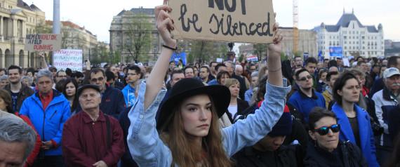 BUDAPEST PROTEST