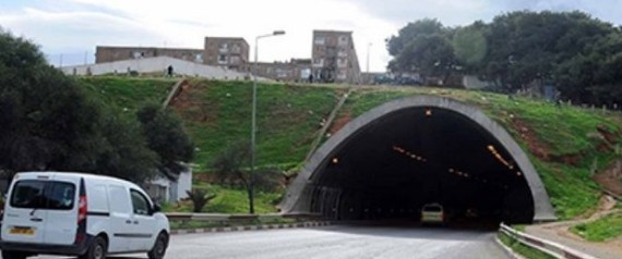 TUNNEL OUED OUCHAYEH