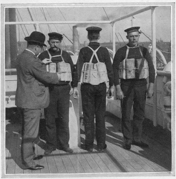 titanic board of trade