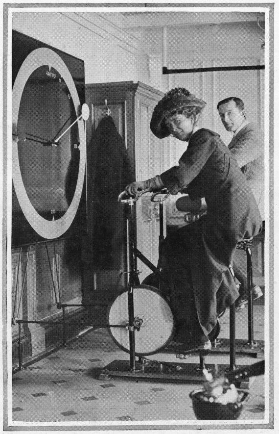 titanic cycle machines