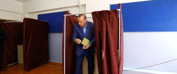 ERDOGAN VOTE