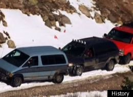 Top Gear' Crosses The Continental Divide In Minivans (VIDEO)