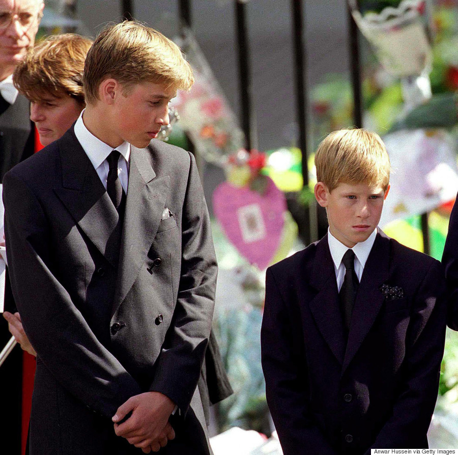 prince harry princess diana funeral