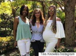 Beyoncé Shows Off Stellar Pregnancy Curves At Easter Celebration