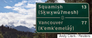 FIRST NATIONS CANADA LANGUAGE