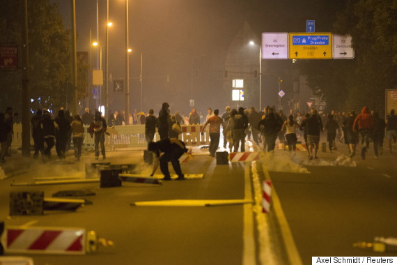germany anti immigrant riot