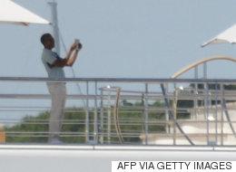 버락 오바마가 여행 중에 미셸 사진을 찍었고, 인터넷이 열광했다