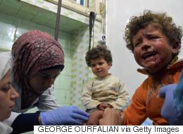 シリア・アレッポ郊外で避難民のバスに車の爆弾 子供68人含む126人死亡