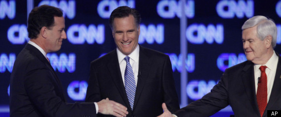 Santorum Gingrich Romney