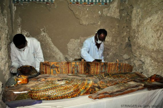 egypt luxor mummies