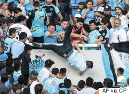 Argentine Soccer Fan Dies After Allegedly Being Thrown From Stands