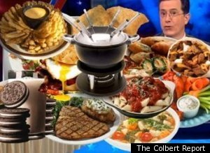 Stephen Colbert Food