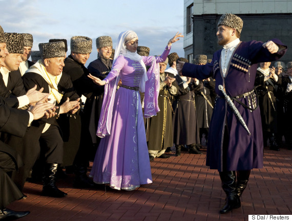 chechen dance