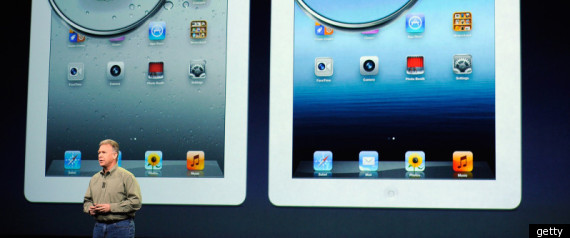 NEW APPLE IPAD IN CANADA
