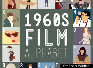 Stephen Wildish Film Alphabet Poster