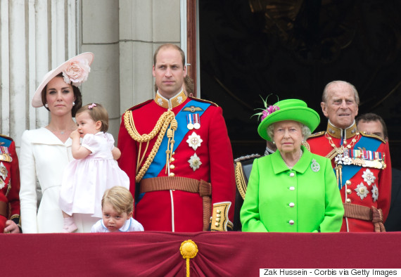 queen elizabeth balcony