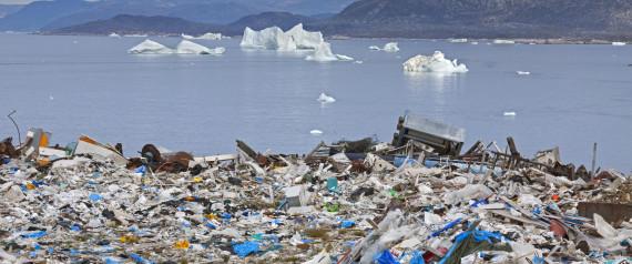 ARCTIC OCEAN PLASTIC