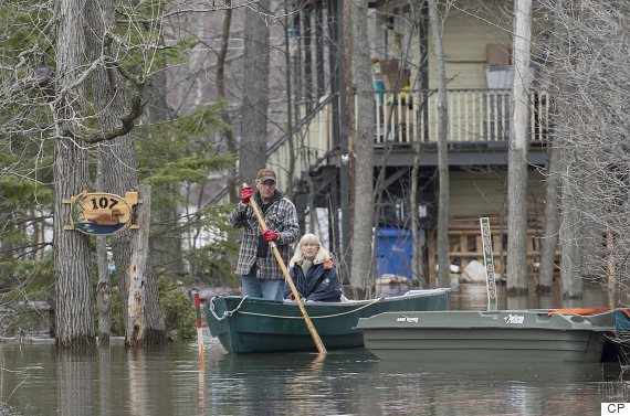 Quebec Floods: Hundreds Of Homes Affected By Rising Water ...