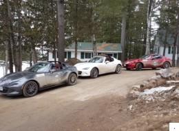 Le Rallye Mazda : une MX-5 RF et une bonne cause