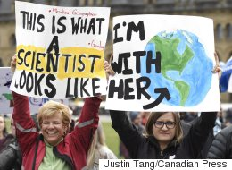 Canadian Scientists Protest Trump To 'Return The Favour'