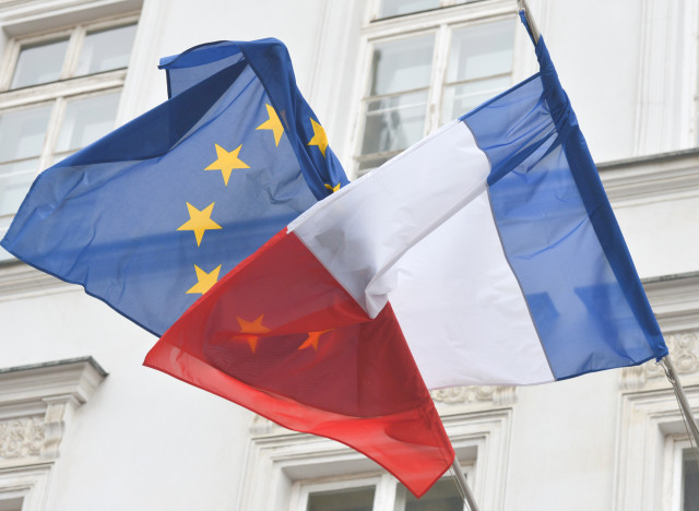 france election flag
