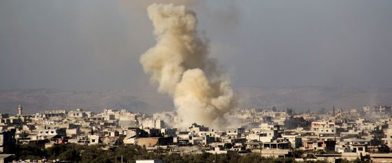 SHELLING IN SYRIA