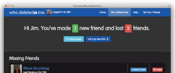 حيلة بسيطة: تعرف على الأصدقاء الذين حذفوك من فيسبوك