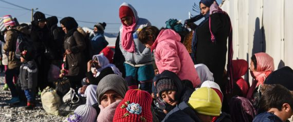 SYRIANS ON THE MOROCCAN BORDER