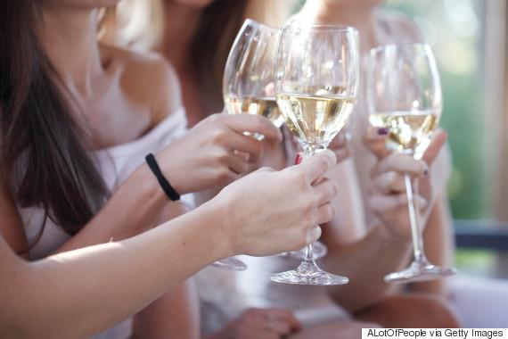 white wine cheers
