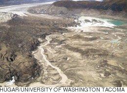 캐나다의 슬림스 강이 나흘 만에 사라졌다
