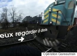 Une campagne-choc en réalité virtuelle pour sensibiliser à la sécurité ferroviaire