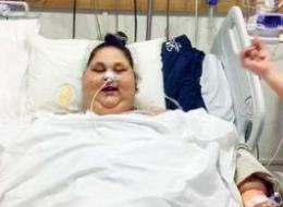 شقيقة الفتاة المصرية الأضخم في العالم تتهم الدكتور الهندي بالنصب.. والطبيب يرد