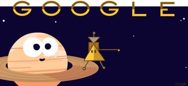 Google Doodle mit Cassini–Huygens Sonde: Darum zeigt das Doodle diese Saturn-Mission