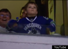 Canucks Dancing Kid