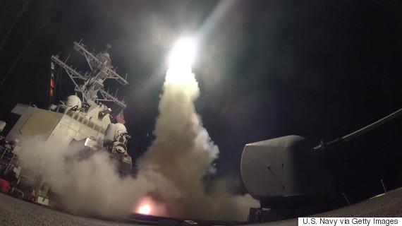 cruise missile syria