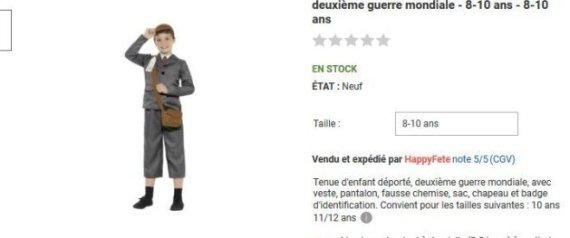 RUE DU COMMERCE COSTUME