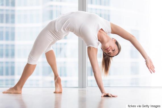 yoga bridge pose