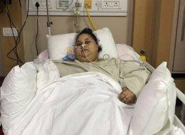 بعد اتهام الطبيب الهندي بالنصب.. شاهد والدة المصرية أسمن امرأة في العالم تستغيث بمن ينقذ ابنتها