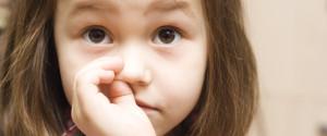 CHILD NOSE PICKING