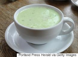 Recette facile de soupe froide de concombres