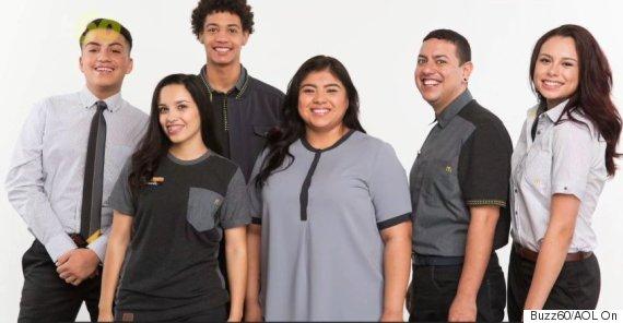 mcdonalds uniform