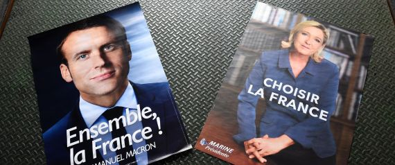 FRANCE ELECTION POSTER