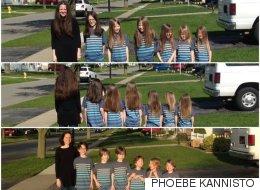 한 엄마와 여섯 아들이 머리를 기른 뭉클한 이유