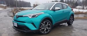 Toyota chr pris