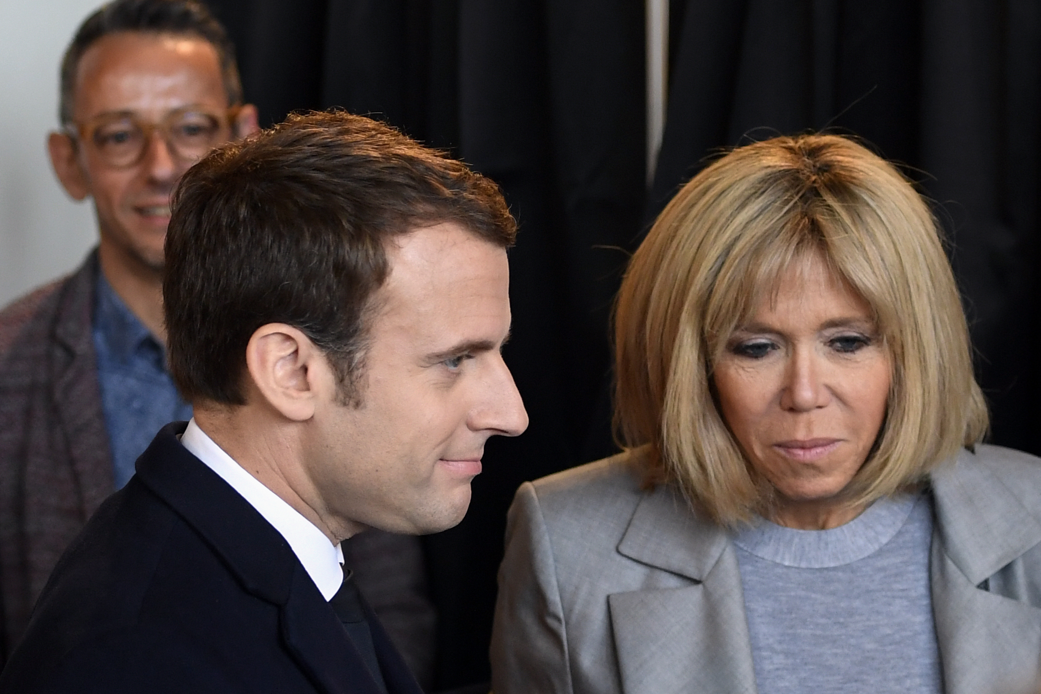 french presidential candidate his wife
