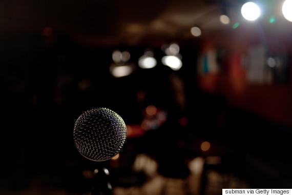 comedian microphone