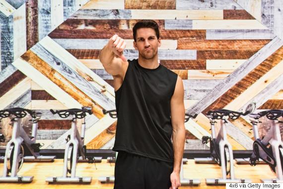 discouraged gym