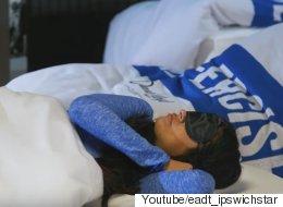 영국의 한 헬스장은 '낮잠 수업'을 제공한다