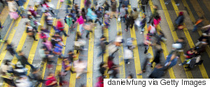 CROWDED CITY CROSSING